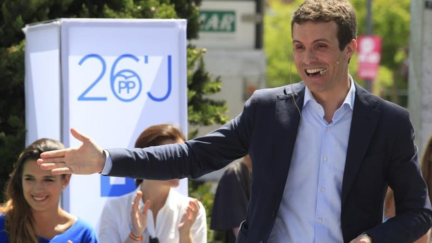 Casado confía en que el Comité Federal del PSOE no repita su veto al PP