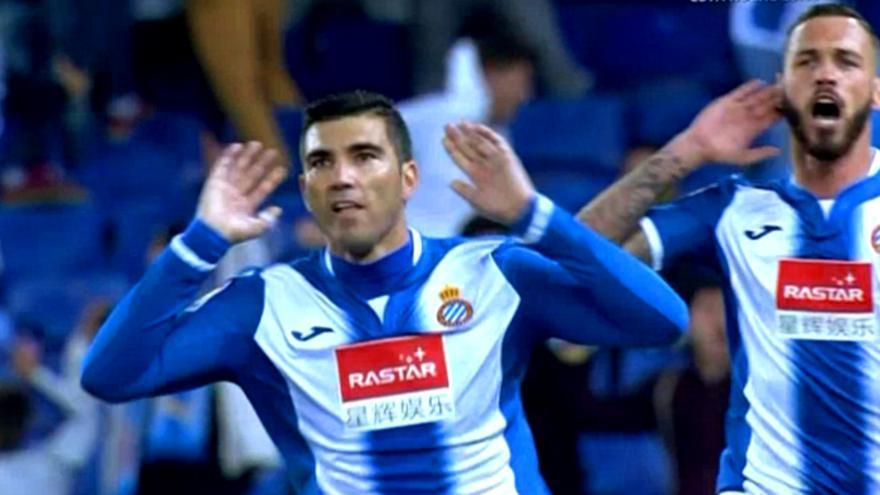 Reyes y Álvaro Vázquez en el Espanyol-Betis de LaLiga