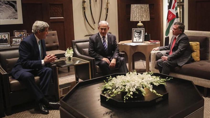 """Abdalá II muestra a Kerry su rechazo a la """"agresión israelí"""" en la mezquita de Al Aqsa"""