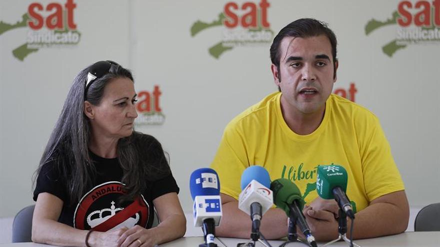 Detenido el portavoz del Sindicato Andaluz Trabajadores por injurias a la Corona
