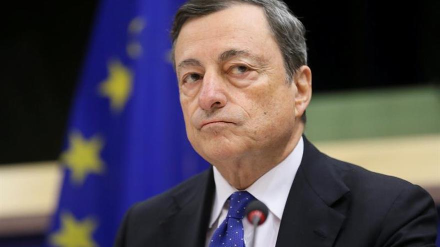 Draghi: los tipos de interés seguirán bajos durante un periodo prolongado