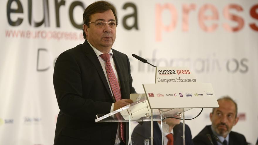 Vara cree que la concentración de Madrid por un tren digno para Extremadura será un éxito y agradece a Adif los avances