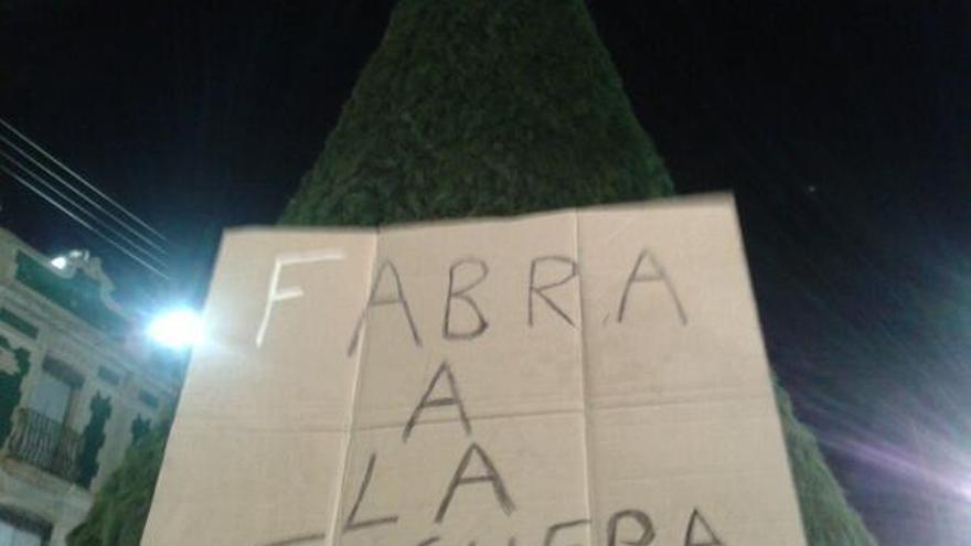 Alberto Fabra hoguera Canals