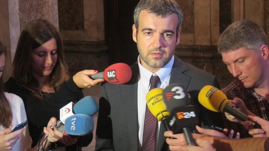 """El PSC exige a Mas acatar el TC y """"cesar todas las actuaciones"""" vinculadas al 9N"""