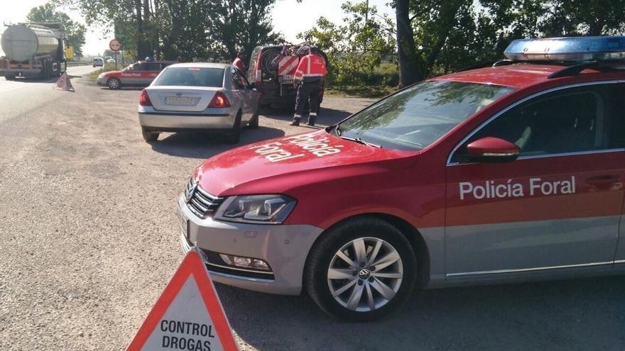 Inmovilizada una moto en Valtierra por cuatro infracciones del conductor