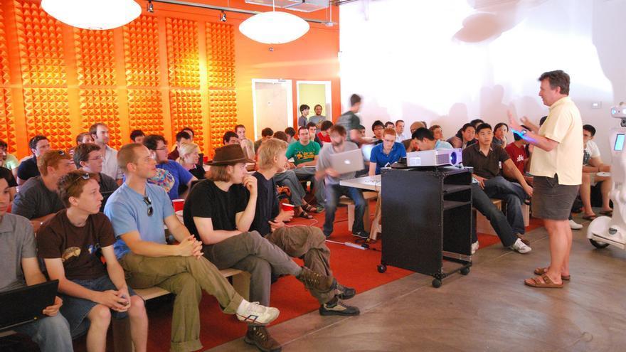 Paul Graham en el Y Combinator Summer de 2009