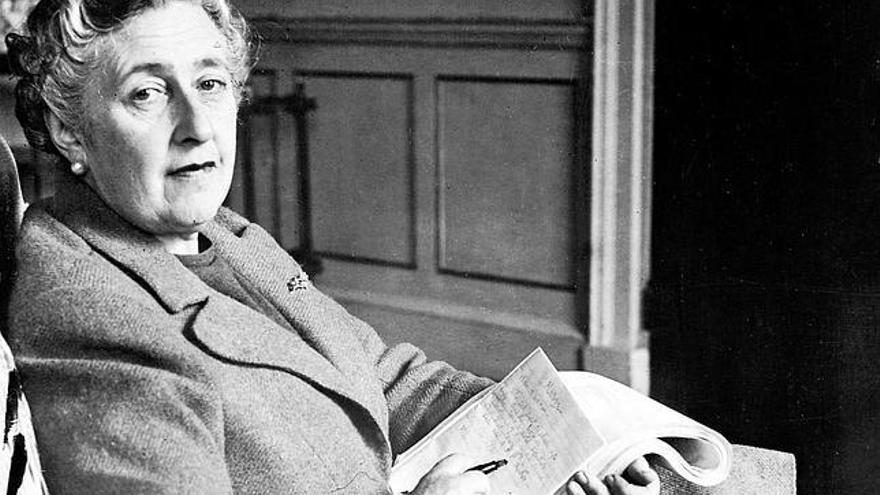 Agatha Christie, en una imagen de marzo de 1946