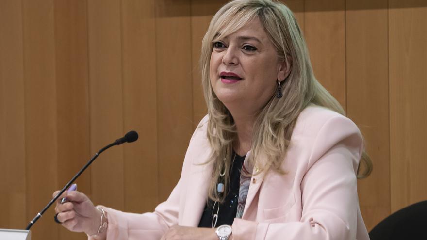 Archivo - La consellera de Derechos Sociales de la Generalitat, Violant Cervera.