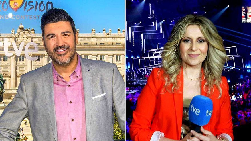 Tony Aguilar y Eva Mora comentarán 'Europe Shine a Light' para culminar la semana eurovisiva de RTVE