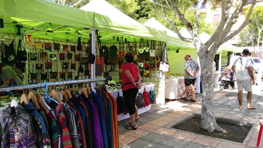 Mercado en Womad (Archivo)