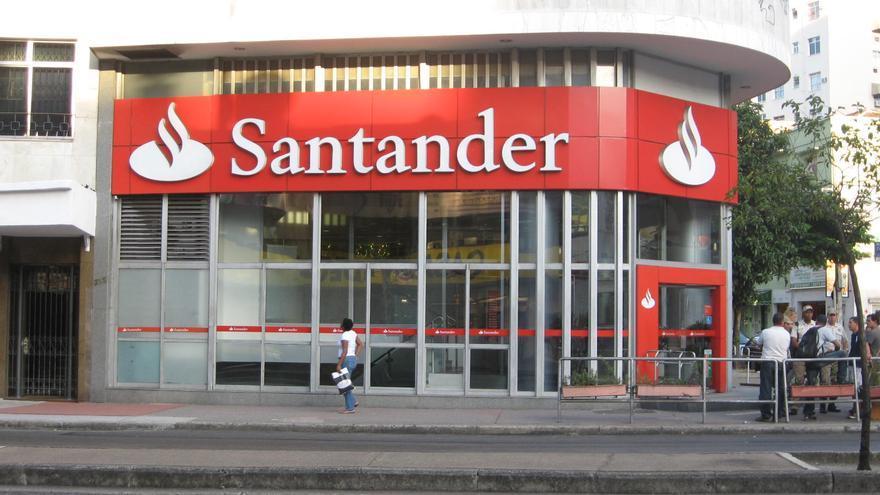 Oficina del banco Santander en Portugal