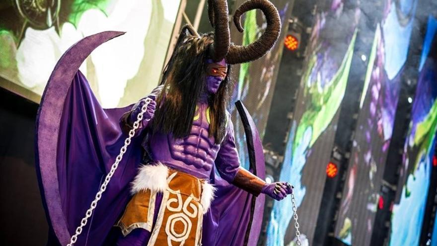 concurso cosplay de la Tenerife Land Party