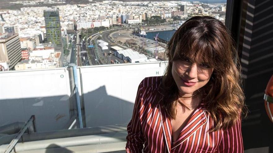 La actriz Adriana Ugarte en Gran Canaria. EFE/Ángel Medina G.