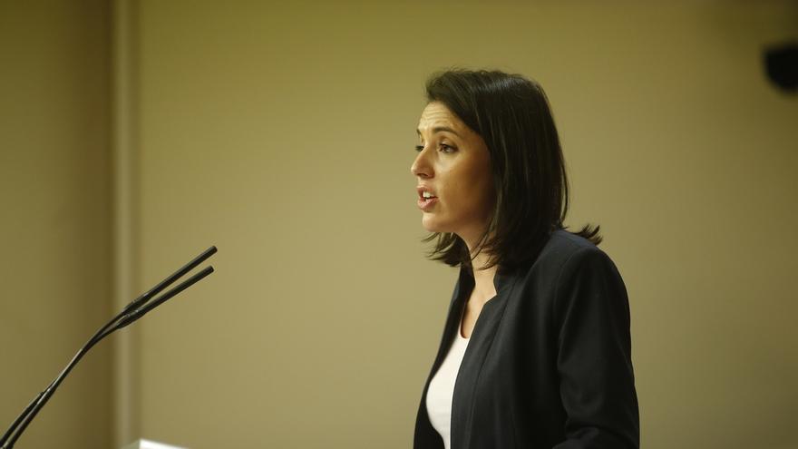 """Irene Montero cree que todos los gobiernos y partidos deben entender el desarme de ETA como una """"cuestión de Estado"""""""