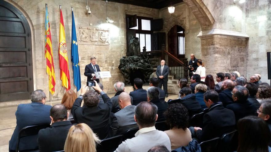 El president de la Generalitat, Ximo Puig, presenta ante los alcaldes el Fondo de Cooperación Municipal