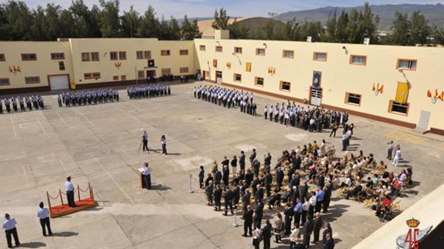 Acto en la Base Aérea de Gando. (MINISTERIO DE DEFENSA)