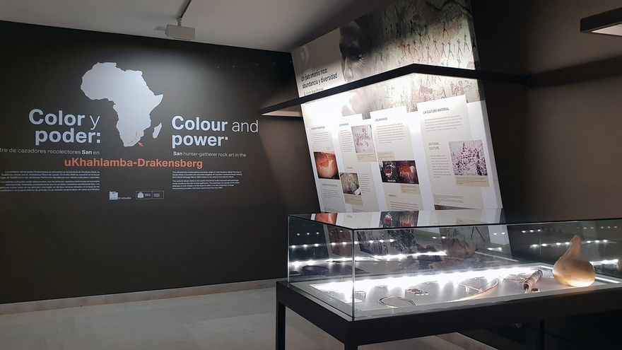 El Museo Altamira acoge una exposición de la zona de Sudáfrica con mayor concentración de arte rupestre