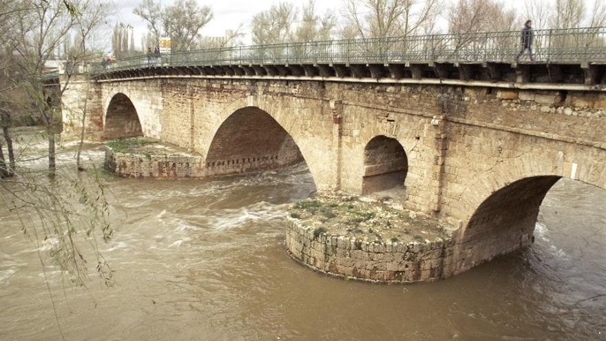 Puente califal sobre el río Henares en Guadalajara