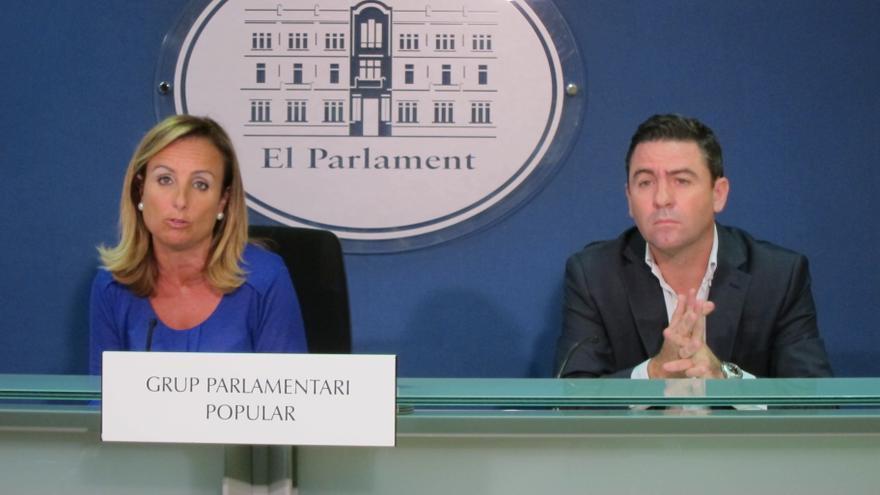 """El PP defiende la necesidad de """"proteger"""" los """"símbolos propios"""" de Baleares ante las """"amenazas"""""""