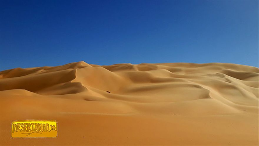 El desierto libio.