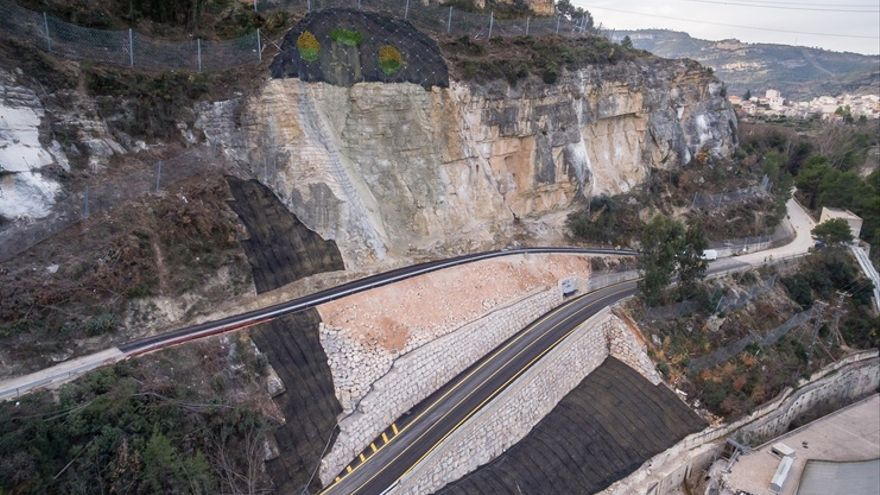 La carretera de Cortes de Pallás fue reabierta en diciembre