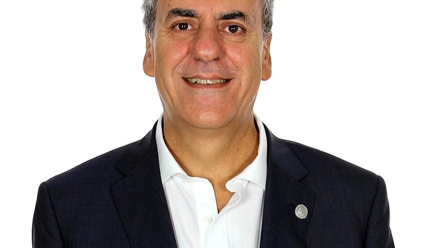 Segundo Píriz, rector en funciones de la UEX y aspirante a repetir en el cargo