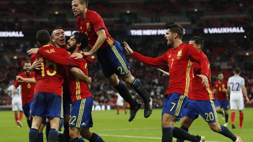 El Inglaterra-España (27%) y 'MasterChef Celebrity' (24%) se salen en audiencia