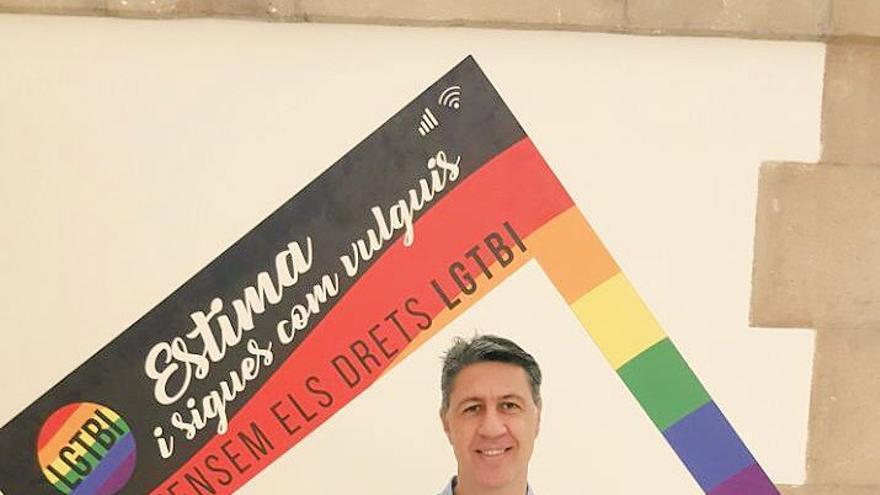 Xavier Albiol, líder del PP en Catalunya