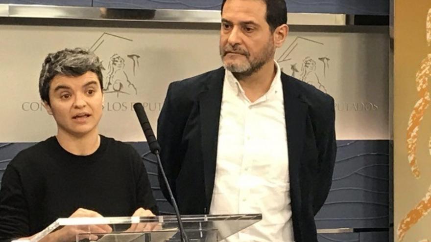 La diputada Lucía Martín, activista de la PAH, nueva portavoz de En Comú en el Congreso en lugar de Domènech