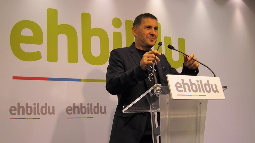"""Otegi cree que su inhabilitación es """"una prueba más de la naturaleza profundamente antidemocrática"""" del Estado español"""