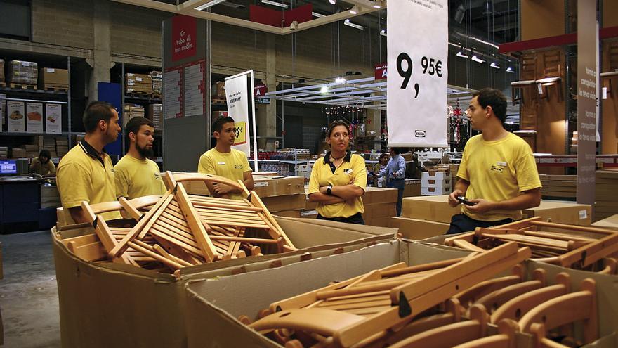 En España el salario mínimo de los empleados de Ikea no lo determinará una hoja de cálculo.