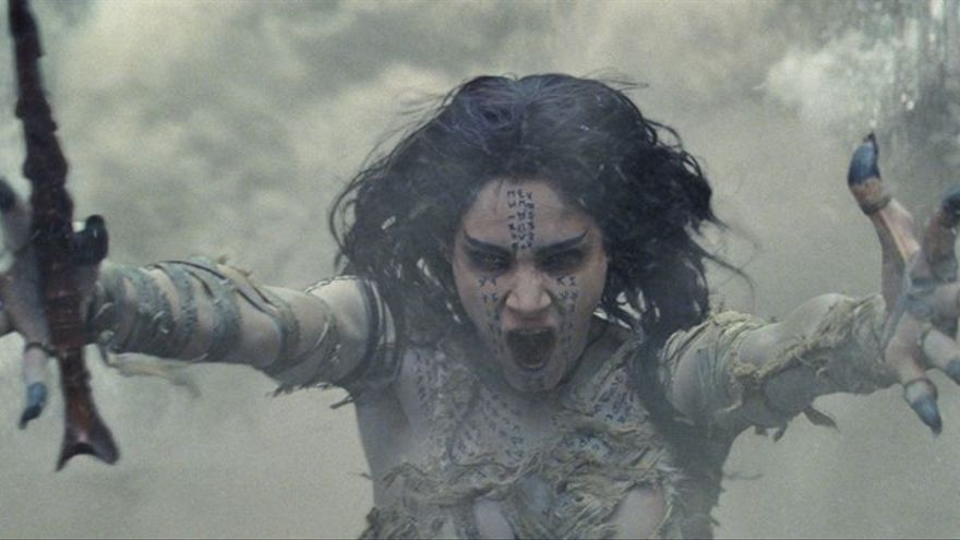 'La momia', interpretada por Sofía Boutella
