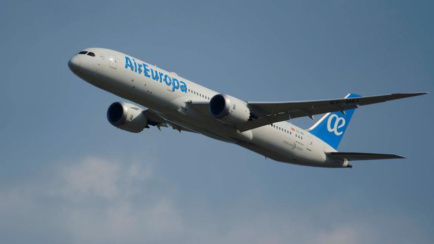 """Air Europa reanuda en junio los vuelos a España desde EE.UU. en """"Dreamliner"""""""