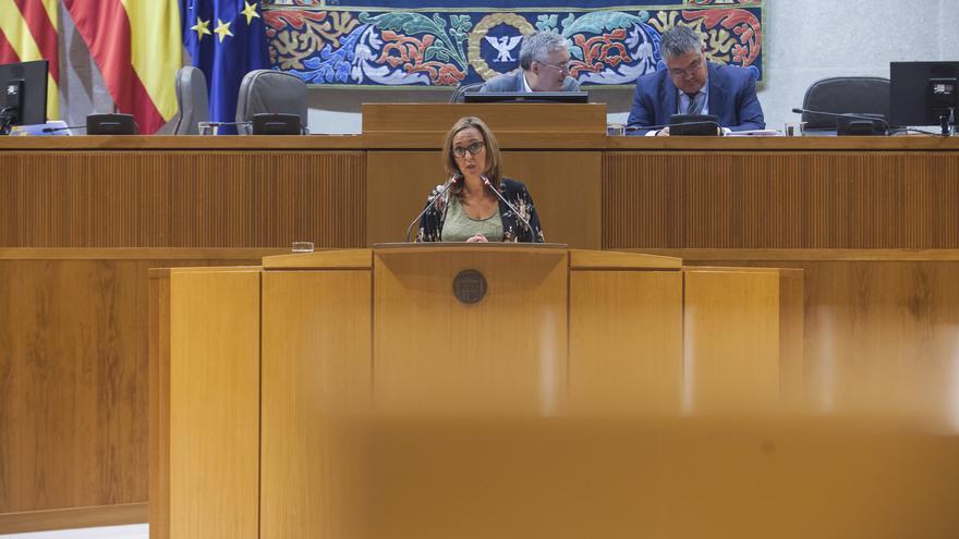 La consejera de Educación del Gobierno de Aragón, Mayte Pérez