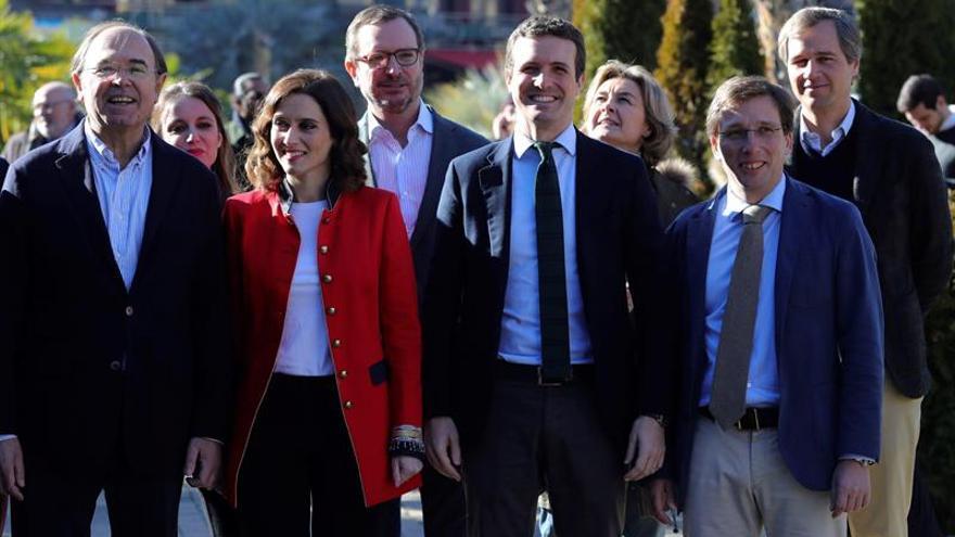 """Casado asegura que el PP """"está preparado"""" para ganar y pactar gobiernos"""