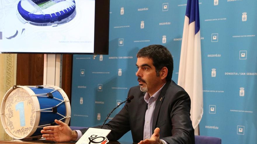 La remodelación del estadio de Anoeta de San Sebastián, que contará con 42.000 localidades, acabará para agosto de 2019