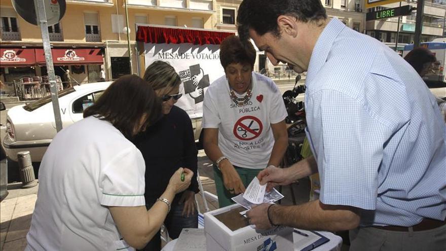 El 99,4 por ciento de votantes de la consulta popular, a favor de la sanidad pública