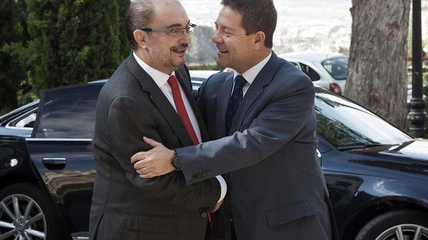 """Page y Lambán confían en la """"coherencia"""" de Sánchez para no convocar congreso"""