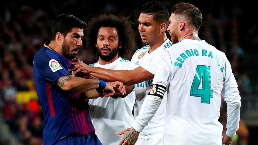 El Clásico Barcelona-Madrid en Liga