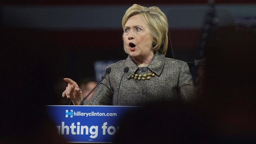 Trump y Clinton amplían su dominio en una nueva jornada de primarias en EE.UU.