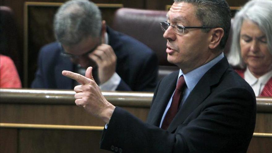 Gallardón responde hoy en el Congreso sobre sus planes con la ley del aborto