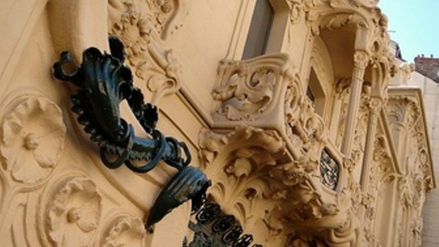 Palacio Longoria, SGAE Detalle