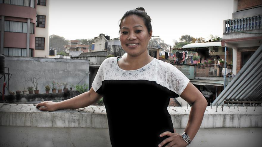 Foto de Maya Gurung De escapar de una boda forzosa en Nepal, a escalar ocho mil metros por la igualdad