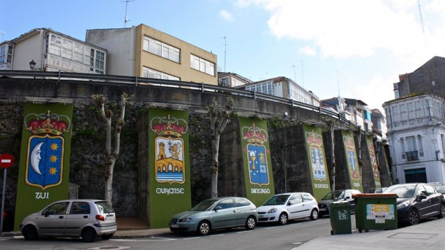 Imagen de Betanzos, recordando su condición de capital de una de las siete provincias históricas de Galicia