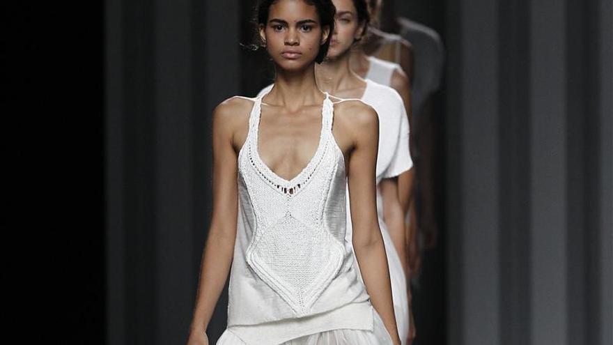 Los nuevos tejidos se imponen en la moda española