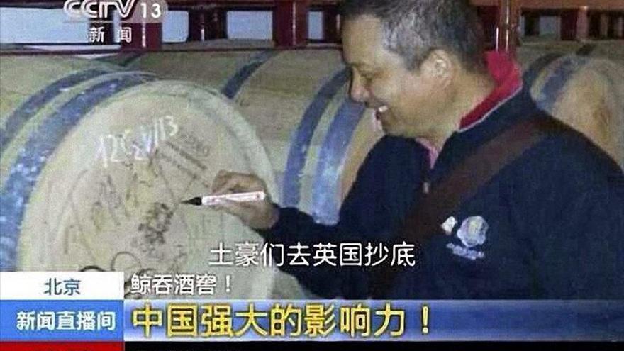 La televisión pública china informa de las inversiones en La Ribera del Duero