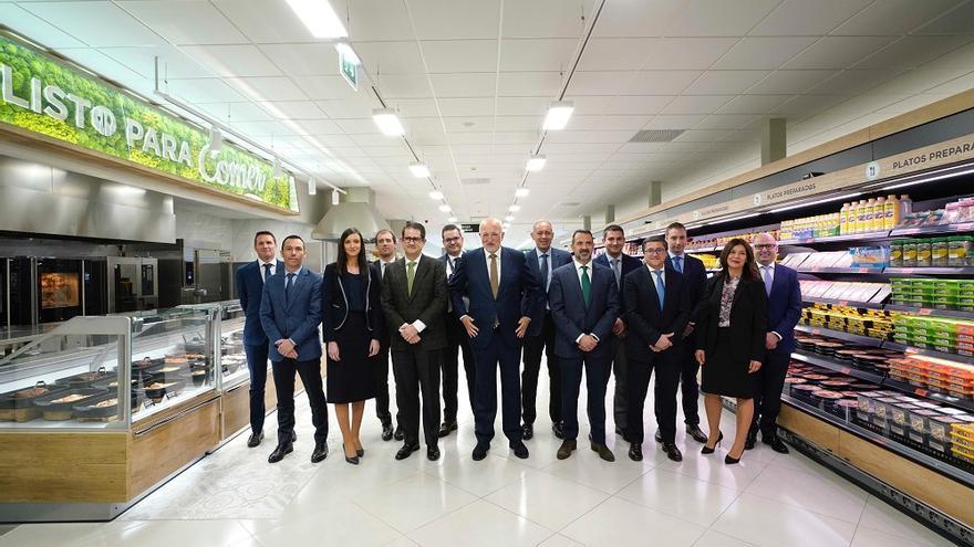 Juan Roig y el comité de dirección de Mercadona
