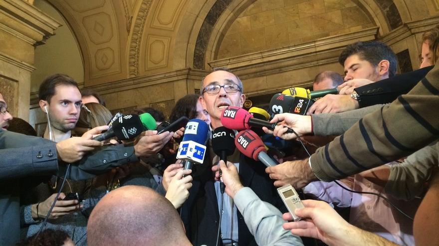 """Coscubiela (SíQueEsPot) lamenta que Forcadell se someta a la mayoría """"absolutista"""" de JxSí"""