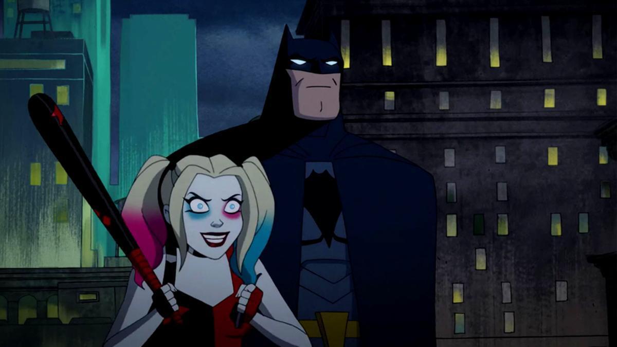 Harley Quinn y Batman, en un capítulo de 'Harley Quinn'