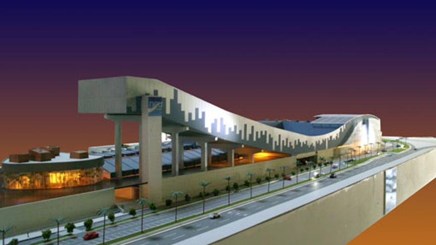 Así era el centro comercial Neutopía, con dos pistas de esquí cubiertas.